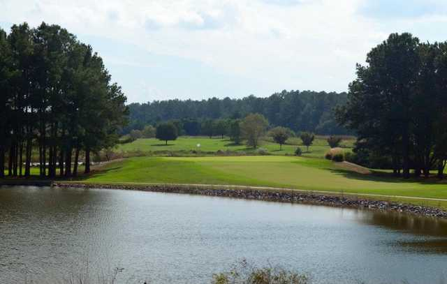 A view of the 8th hole at Hooper's Landing Golf Course