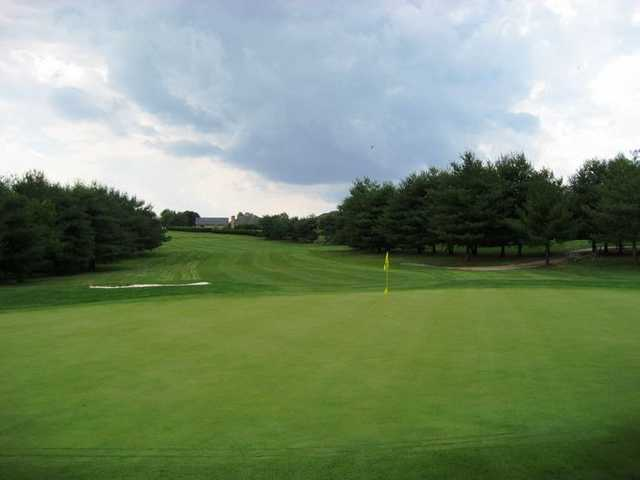 A view of a hole at South Course from Bowling Green Country Club