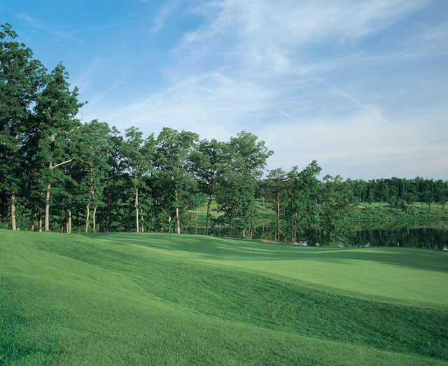 A view of hole #3 at Virginia Oaks Golf Club