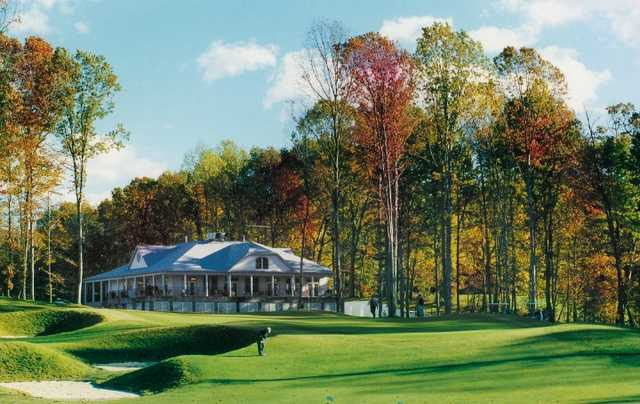 A view of the clubhouse at Gauntlet Golf Club