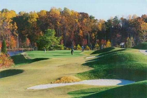 A fall view from Gauntlet Golf Club
