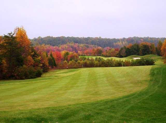 A view of the 2nd hole at Gauntlet Golf Club