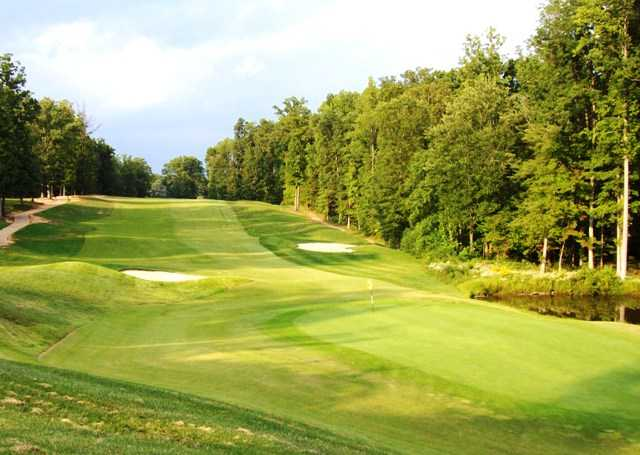 A view of green #9 at Gauntlet Golf Club
