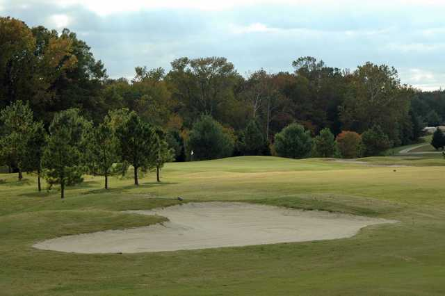 A view of fairway #8 at Hollows Golf Club - Cottage Course