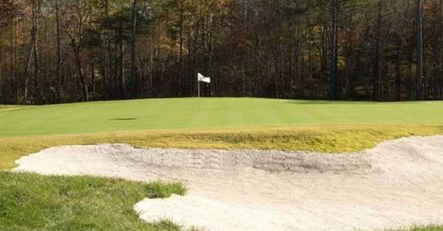 A view of the 11th green at Magnolia Green Golf Club