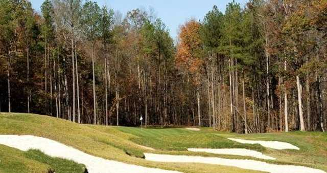 A view of green #12 at Magnolia Green Golf Club