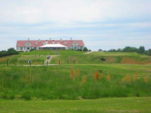 A view of the clubhouse at Royal New Kent Golf Club
