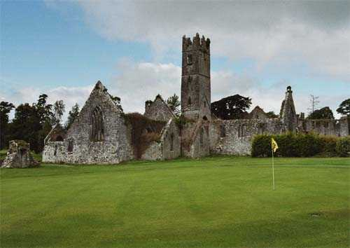 A view of the 16th hole at Adare Manor Golf Club