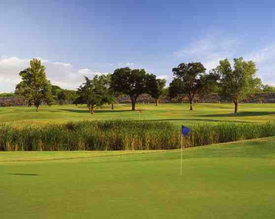 A view from Lake Park Golf Course