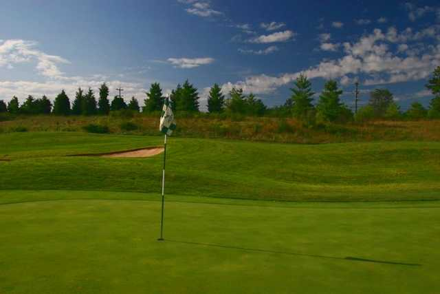 A view of the 15th hole at South Riding Golf Club
