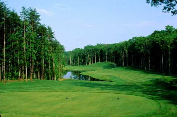 A view from tee at Augustine Golf Club