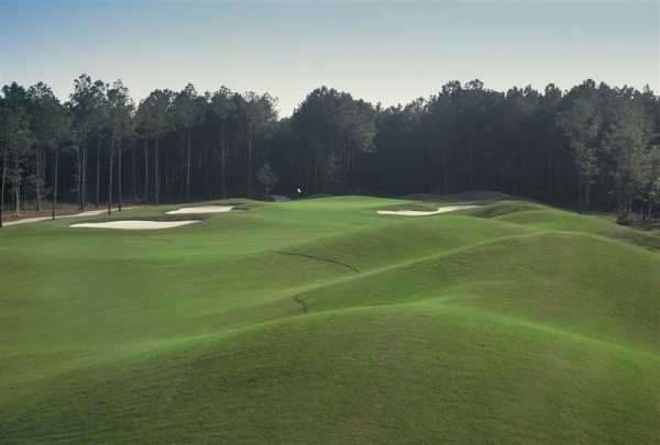 A view of fairway #1 at Lakes Course from Arrowhead Country Club