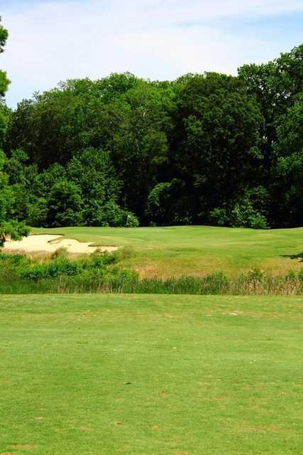 A view of fairway #5 at Nansemond River Golf Club
