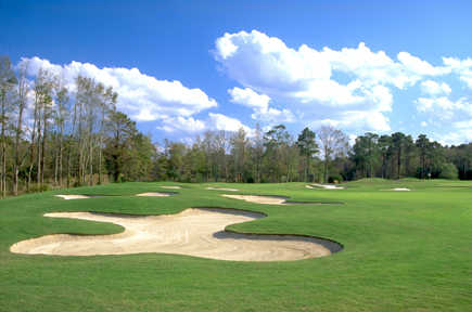 A view of the 1st hole at Hell's Point Golf Club