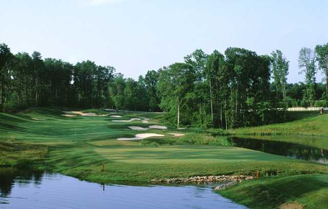 A view of the 2nd hole at Old Hickory Golf Club