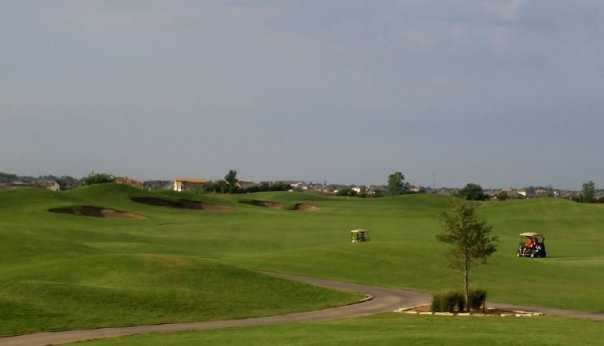 A view of hole #13 at WestRidge Golf Course
