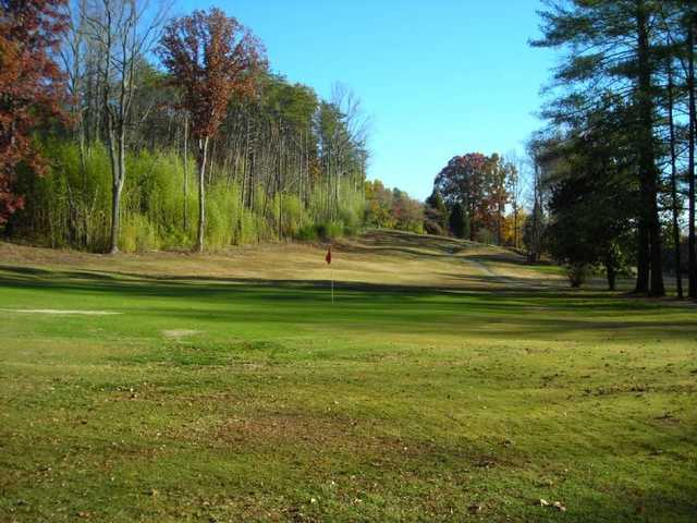 A fall view from Wolf Creek Golf Course