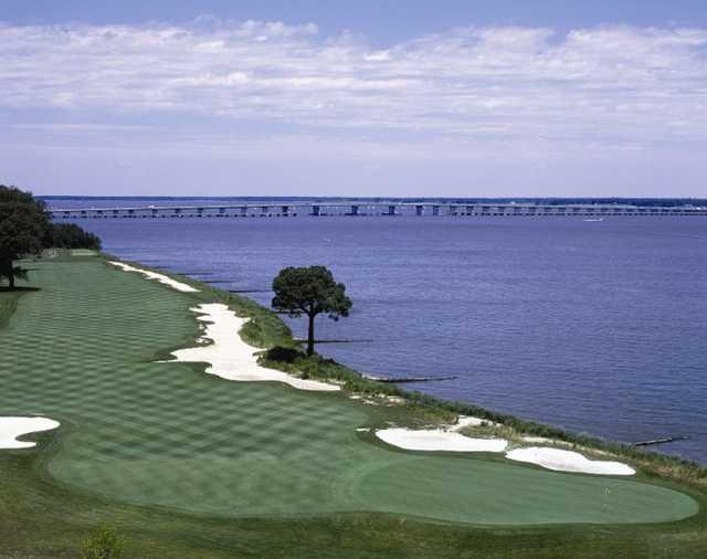 View from River Marsh Golf Club - Hyatt Chesapeake Bay