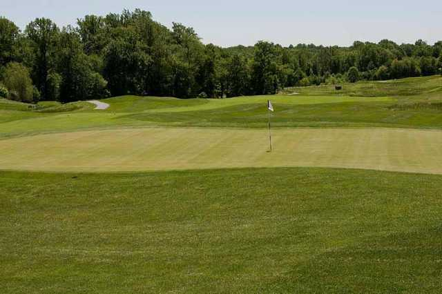 A view of green at Hampshire Greens Golf Course