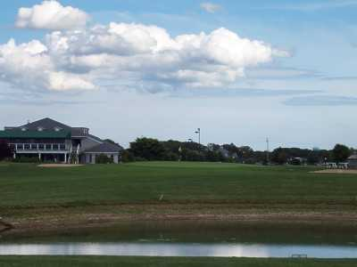 A view of hole #9 at Cherry Creek Golf - The Links Course