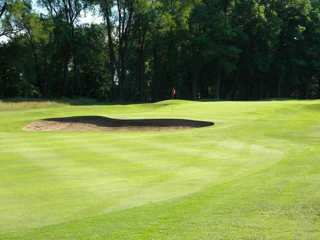 A view of a hole at Chippewa Golf Club