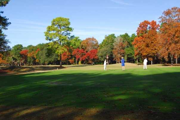 A fall view from Lady's Island Country Club