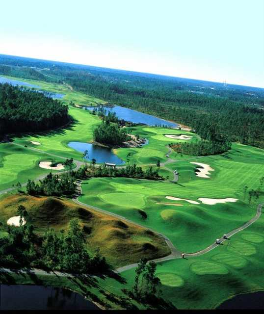 Aerial view from Golf Club at Hilton Head Lakes