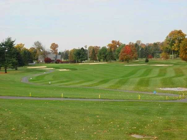 A fall view from Fairview Golf Course
