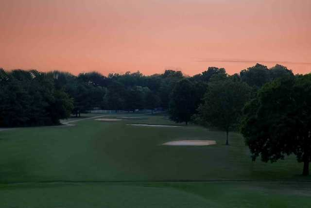 A view of the 6th hole at Nashboro Golf Club