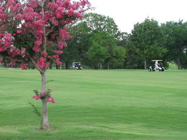 A spring view from Bryan Golf Course