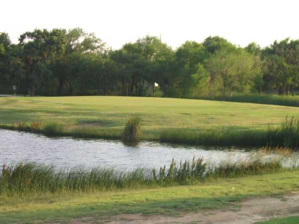 A view of a hole at Creek from Meadowbrook Golf Complex