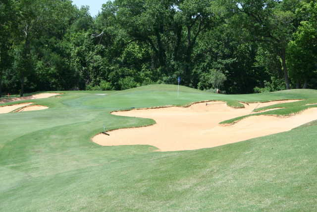 A view of hole #15 at Cowboys Golf Club