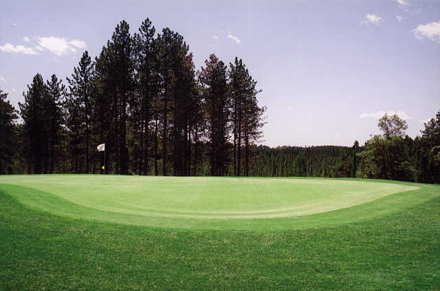 A view of the 11th green at St. Germain Golf Club