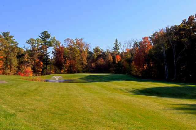 A fall view from Trappers Turn Golf Club