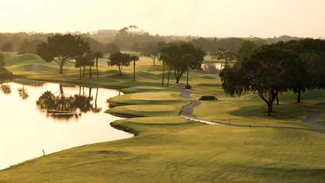 A view from Boca West Country Club