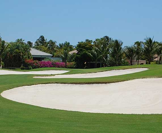 A view of the 5th hole at Equestrian Course from Polo Club