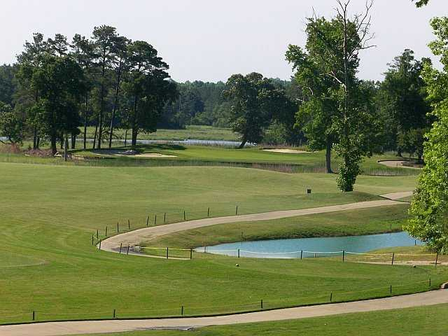 A view of hole #15 at Cypress Creek Golfers' Club