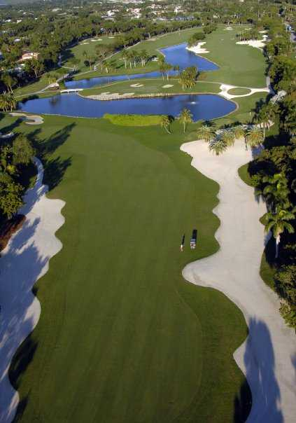 Aerial view from Dolphin at Ocean Reef Club