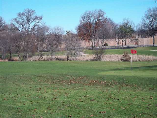 A view of hole #2 at Clearview Park Golf Course