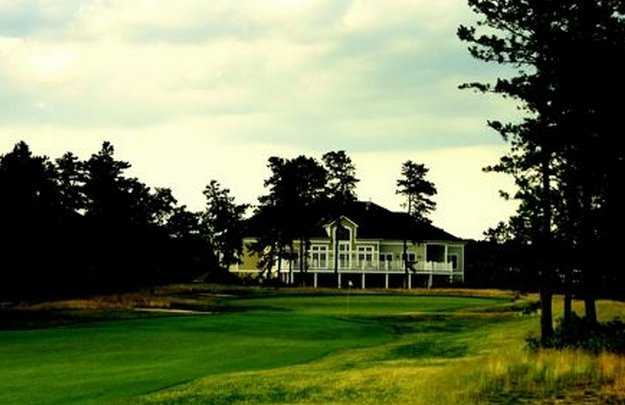A view of the clubhouse at Pine Ridge Golf Club