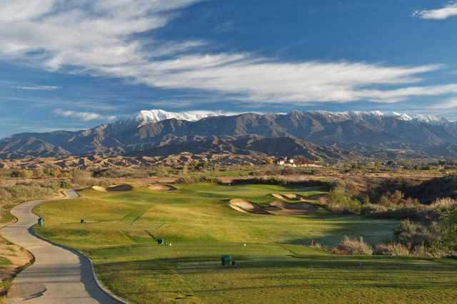 A view from Morongo Golf Club at Tukwet Canyon