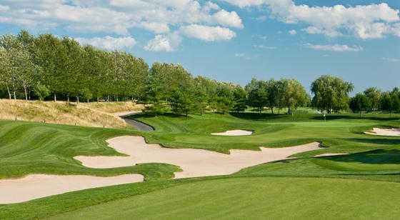 A view of the 11th hole at Willow Creek Golf & Country Club