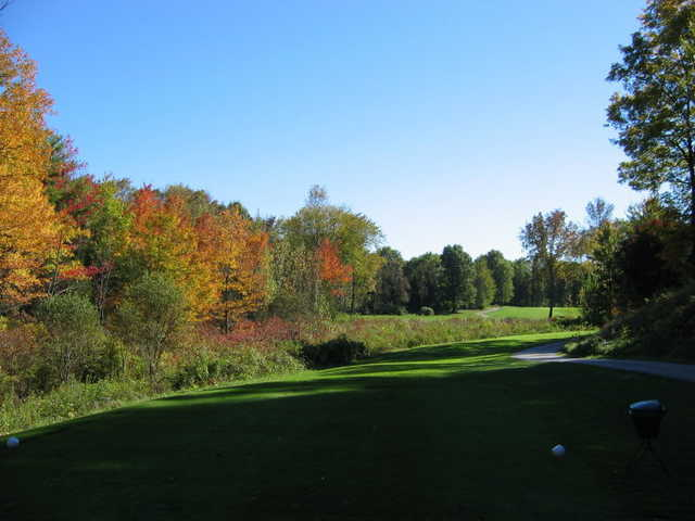 A view from a tee at Red Hook Golf Club