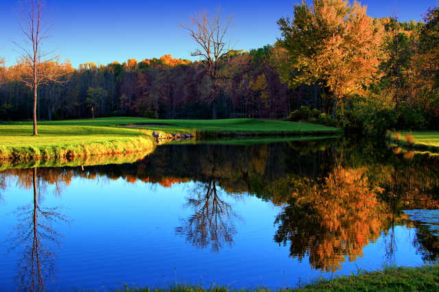 A view of the 17th green at Wild Wood Country Club (Bill Burton)
