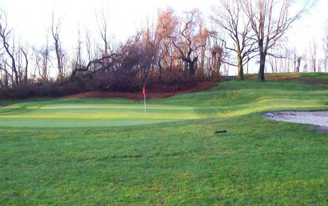 A view of the 1st hole at LaTourette Golf Course