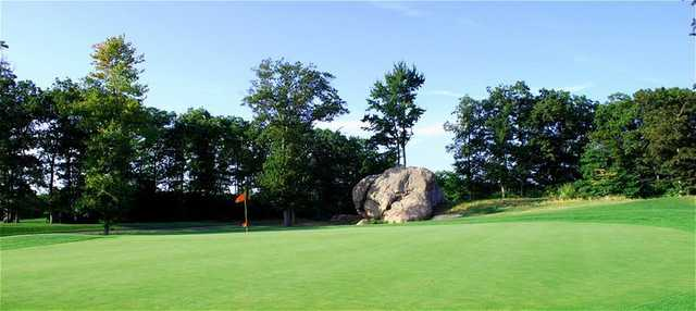 A view of the 10th hole - The Rock - at Great Rock Golf Club