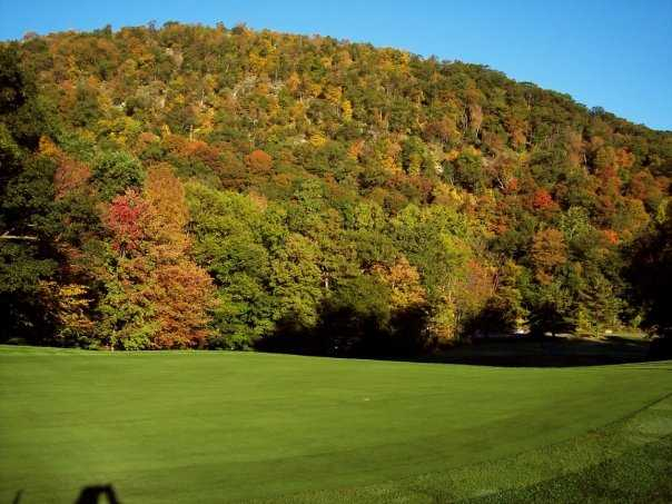 A view of hole #12 at West Point Golf Course