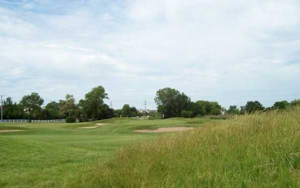A view of a green at Golf Club of Illinois
