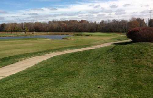 A view from tee #1 at Woodlands Golf Club