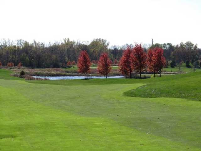 A fall view from Makray Memorial Golf Club